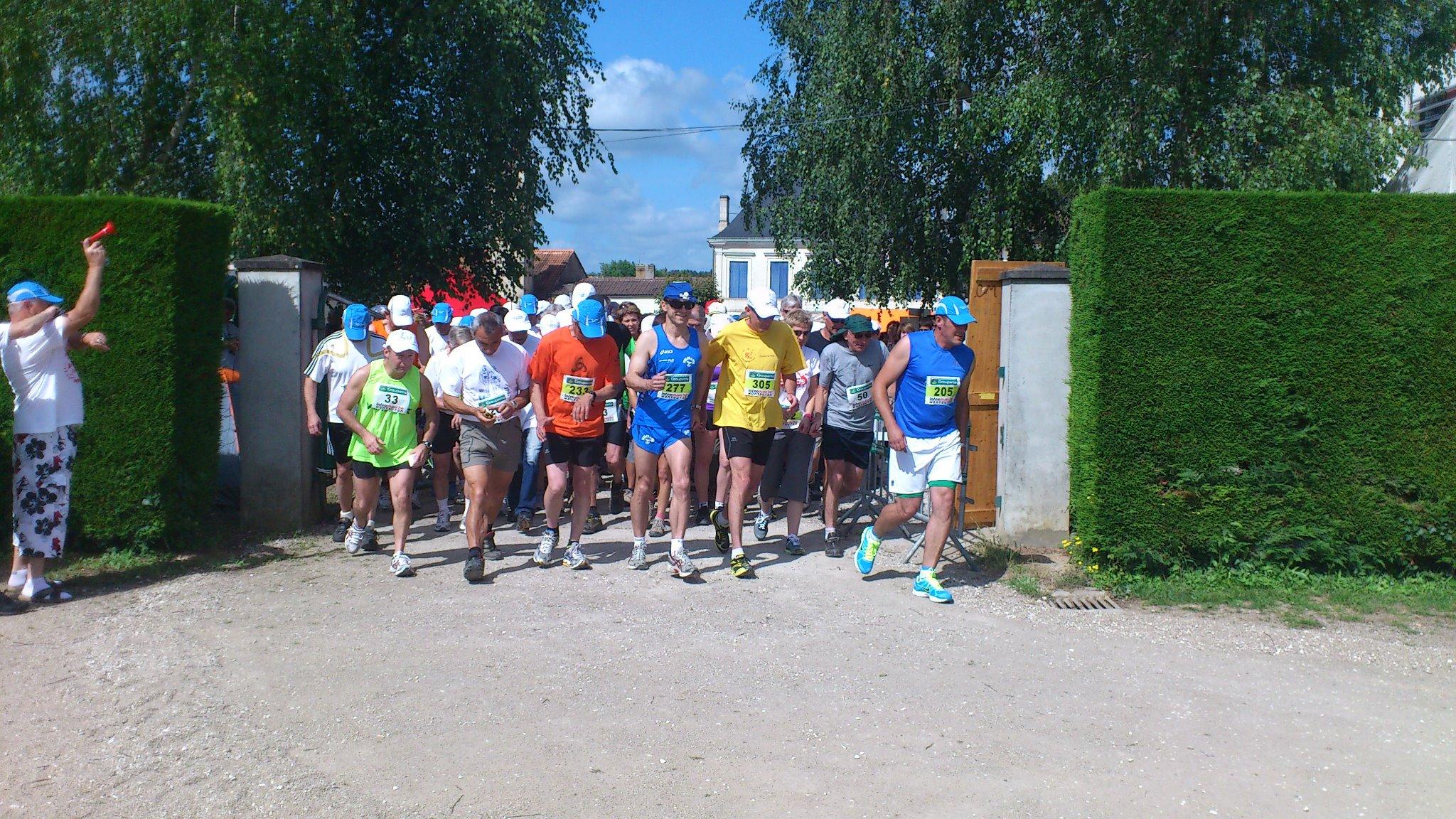 24 h de marche Montguyon